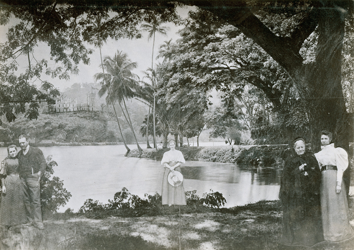 Stanislovas Kazimieras Kosakovskis_Prie Kanados ezero_1897