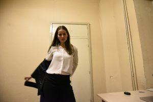 Office dance routines_dystopian strip