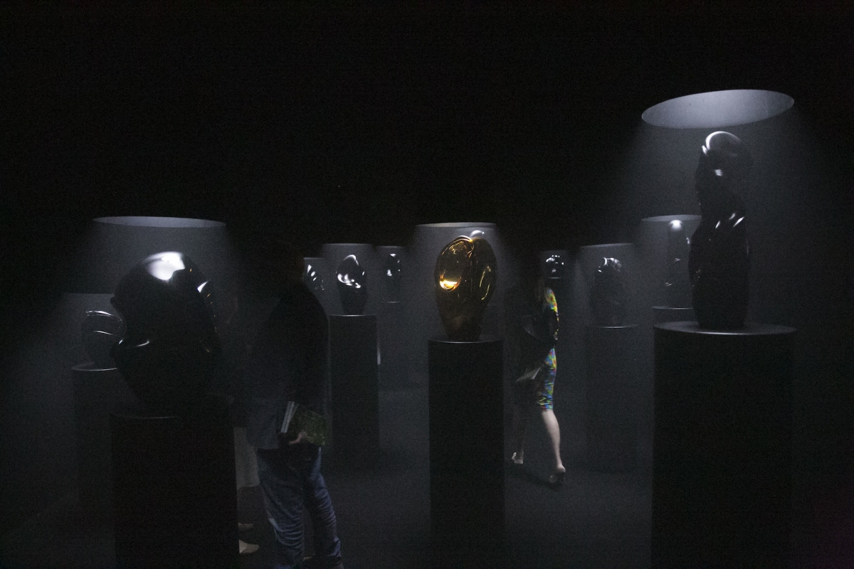 Dusetų dailės galerijos stendas
