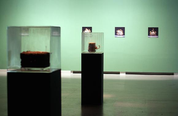 Darius Žiūra, paroda SWIM, Šiuolaikinio meno centre, 2014. Martos Ivanovos nuotrauka.