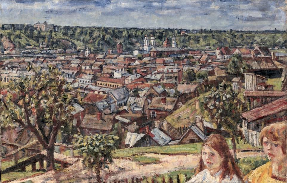 Eidukevicius_Kauno panorama_Vaizdas nuo Zaliakalnio