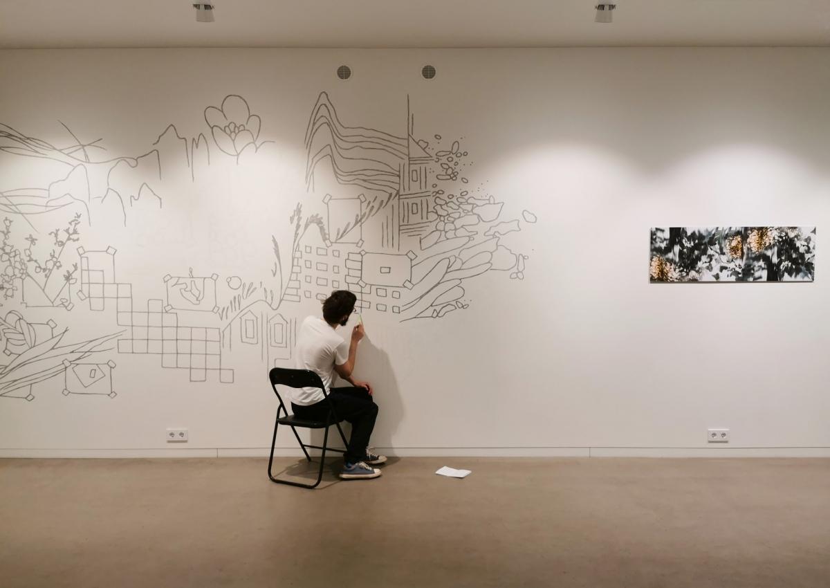 Nacionalinė dailės galerija kviečia virtualiojoje erdvėje pasivaikščioti po parodą apie ateitį
